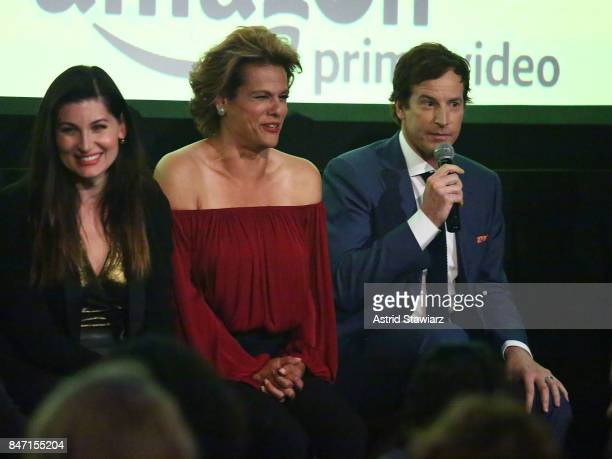Actors Trace Lysette Alexandra Billings and Rob Huebel attend a screening event for members of the Screen Actors Guild in New York for the Amazon...