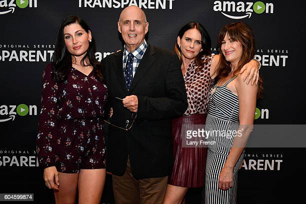 Actors Trace Lysette Jeffrey Tambor Amy Landecker and Kathryn Hahn attend the Amazon 'Transparent' Screening on September 13 2016 in Washington DC
