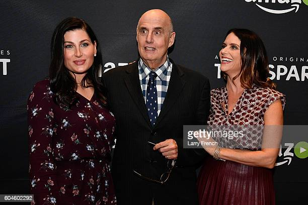 Actors Trace Lysette Jeffrey Tambor and Amy Landecker attend the Amazon Transparent Screening on September 13 2016 in Washington DC