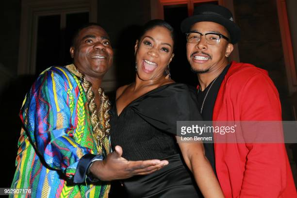 Actors Tracy Morgan Tiffany Haddish and Allen Maldonado attends the after party during theTBS' FYC Event For 'The Last OG' And 'Search Party' at...
