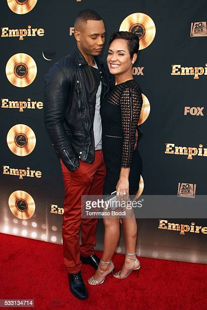 """Actors Trai Byers and Grace Gealey attend the """"Empire"""" FYC ATAS Event held at Zanuck Theater at 20th Century Fox Lot on May 20, 2016 in Los Angeles,..."""