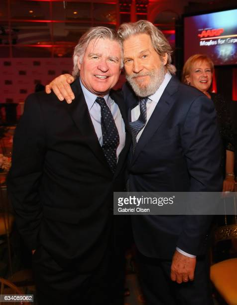 Actors Treat Williams and Jeff Bridges attend the 16th Annual AARP The Magazine's Movies For Grownups Awards at the Beverly Wilshire Four Seasons...