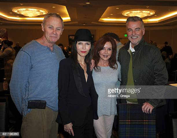 Actors Tristan Rogers Finola Huges Jackie Zeman and Ian Buchanan attend The Hollywood Show held at The Westin Los Angeles Airport on January 7 2017...