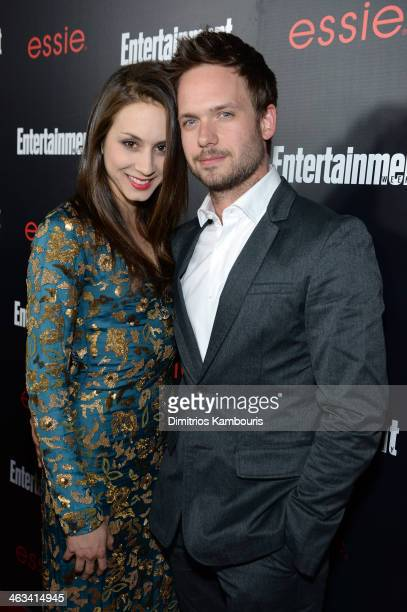 Actors Troian Bellisario and Patrick J Adams attends the Entertainment Weekly celebration honoring this year's SAG Awards nominees sponsored by TNT...