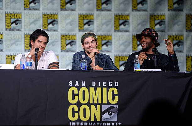 Comic con international 2016 quotteen wolfquot panel photos for Raised ink san diego