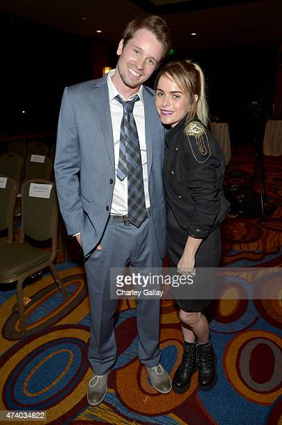 Actors Tyler Ritter and Taryn Manning attend The Marriott Content Studio's French Kiss film premiere at the Marina del Rey Marriott on May 19 2015 in...