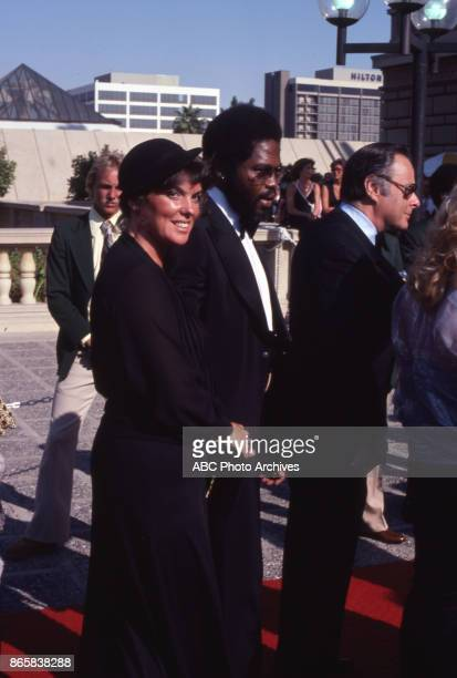 Actors Tyne Daly and George Stanford Brown attend the 31st Annual Primetime Emmy Awards on September 9 1979 at the Pasadena Civic Auditorium...