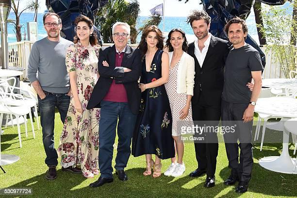 Actors Valerio Mastandrea Miriam Leone director Marco Bellocchio actresses Barbara Ronchi Berenice Bejo Guido Caprino and Ferdinando Vetere attend...