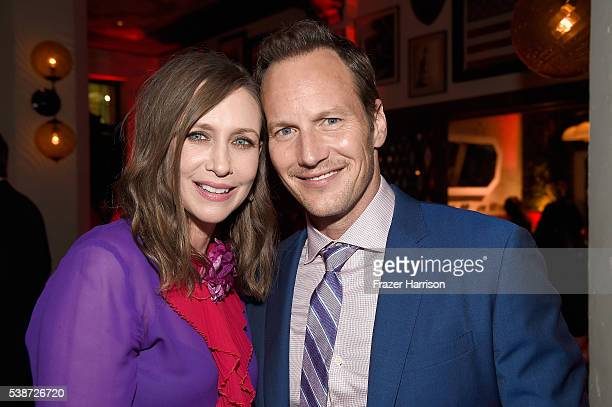 Actors Vera Farmiga and Patrick Wilson attend the after party for the premiere of The Conjuring 2 during the 2016 Los Angeles Film Festival at the...