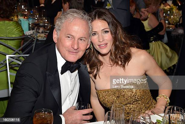 Actors Victor Garber and Jennifer Garner attend the 19th Annual Screen Actors Guild Awards at The Shrine Auditorium on January 27 2013 in Los Angeles...
