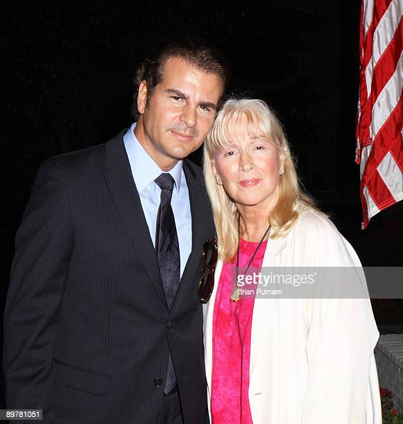 Actors Vincent De Paul and Diane Ladd attend 'SAG' event 'Meet the Candidates' hosted by Nancy Sinatra on August 13 2009 in Beverly Hills California