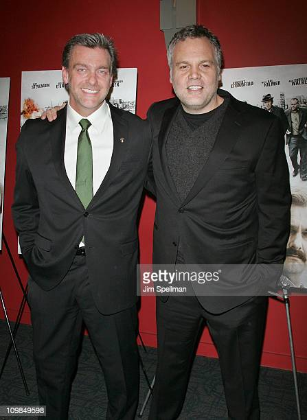 Actors Vincent D'Onofrio and Ray Stevenson attend the premiere of Kill the Irishman at Landmark's Sunshine Cinema on March 7 2011 in New York City
