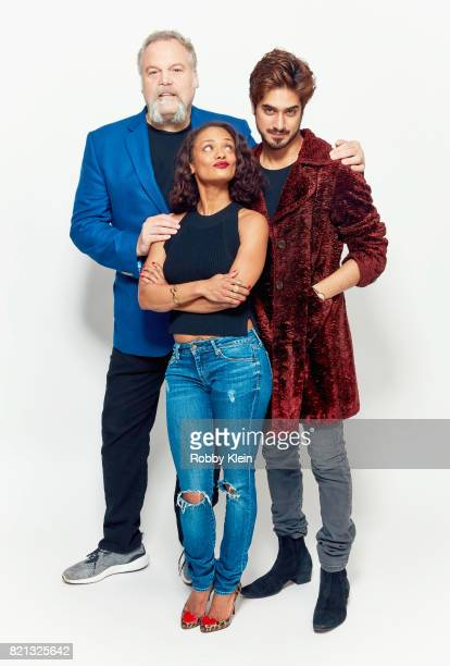 Actors Vincent D'Onofrio Kandyse McClure and Avan Jogia from Syfy's 'Ghost Wars' pose for a portrait during ComicCon 2017 at Hard Rock Hotel San...