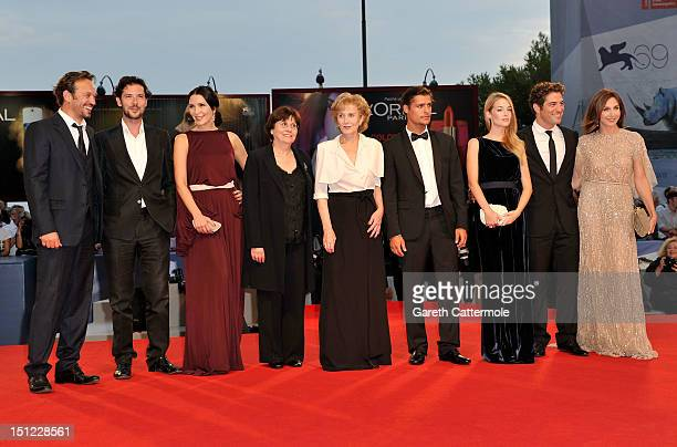 Actors Vincent Perez,Melvil Poupaud,Soraia Chaves, director Valeria Sarmient, actors Marisa Paredes, Carloto Cotta, Victoria Guerra, Nuno Lopes and...