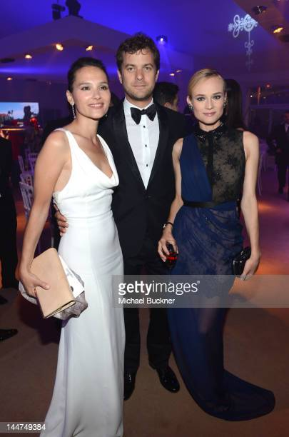 Actors Virginie Ledoyen Joshua Jackson and Diane Kruger attend the Haiti Carnival In Cannes Benefitting J/P HRO Artists For Peace and Justice Happy...