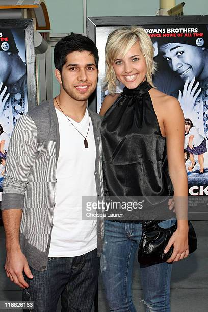 Actors Walter Perez and Kherington Payne arrive at the Los Angeles premiere of 'Dance Flick' at the ArcLight Hollywood on May 20 2009 in Hollywood...