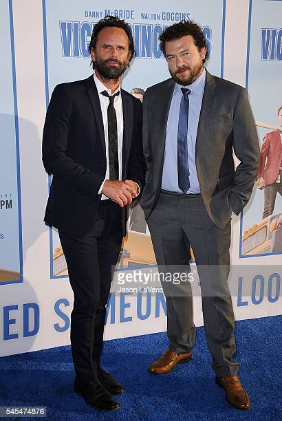 Actors Walton Goggins and Danny McBride attend the premiere of 'Vice Principals' at Avalon Hollywood on July 7 2016 in Los Angeles California