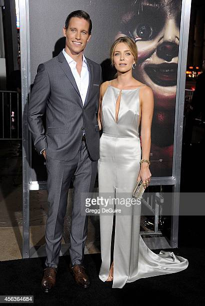 Actors Ward Horton and Annabelle Wallis arrive at the Los Angeles Special Screening Of New Line Cinema's 'Annabelle' at TCL Chinese Theatre on...