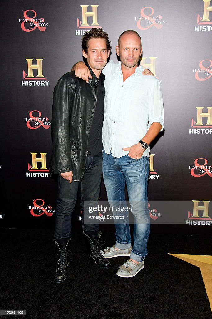History Channel Pre-Emmy Party - Arrivals