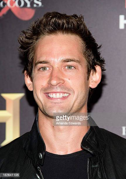 Actors Will Kemp arrives at the History Channel PreEmmy Party at Soho House on September 22 2012 in West Hollywood California