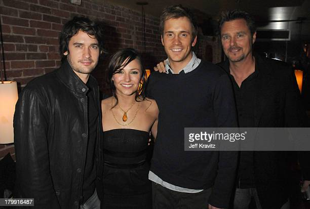 Actors Will Kemp Briana Evigan Robert Hoffman and Greg Evigan attendTouchstone Pictures' and Summit Entertainment's world premiere of Step Up 2 The...