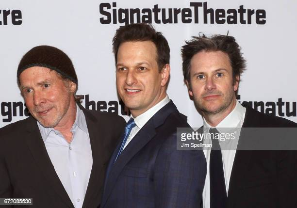 Actors Will Patton Josh Charles and Josh Hamilton attend the The Antipodes opening night party at Signature Theatre Company's Pershing Square...