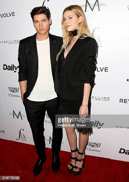 Actors Will Peltz and Nicola Peltz attend the Daily Front Row 'Fashion Los Angeles Awards' at Sunset Tower Hotel on March 20 2016 in West Hollywood...