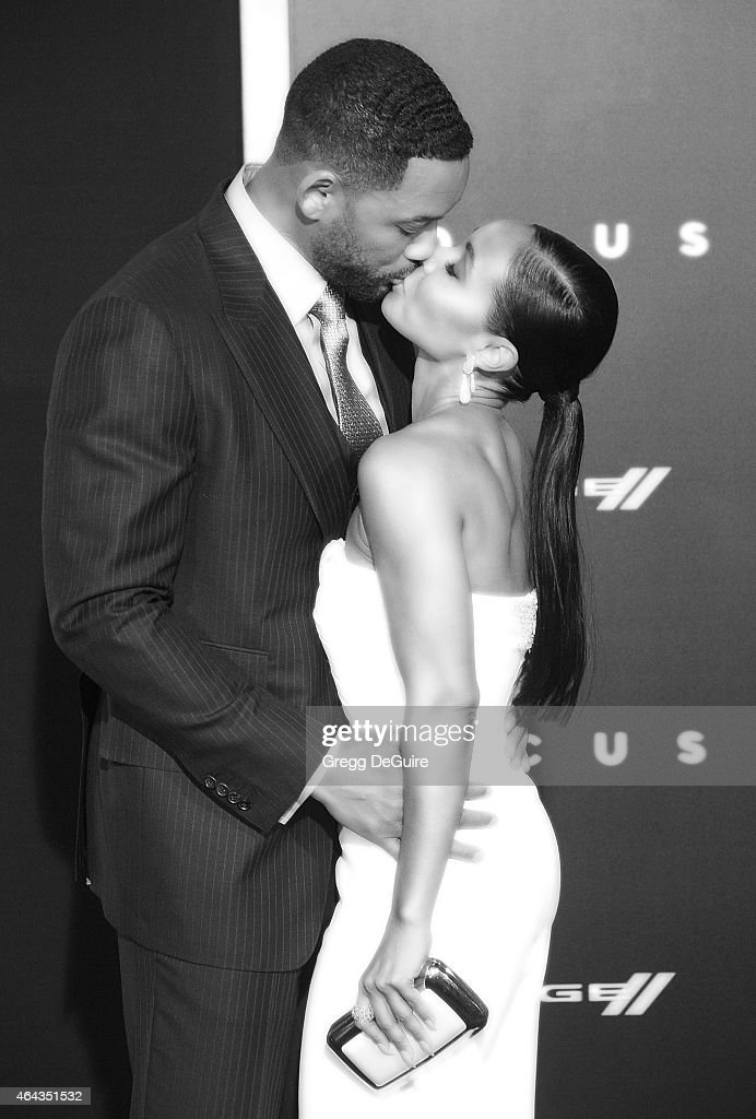 Actors Will Smith and Jada Pinkett Smith arrive at the Los Angeles World Premiere of Warner Bros. Pictures 'Focus' at TCL Chinese Theatre on February 24, 2015 in Hollywood, California.