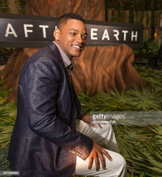 Actors Will Smith attends the After Earth photo call at The 5th Annual Summer Of Sony at the Ritz Carlton Hotel on April 23 2013 in Cancun Mexico