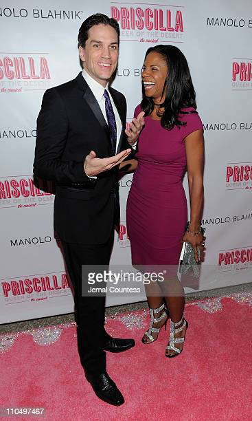Actors Will Swenson and Audra McDonald attend the after party for the Broadway opening night of Priscilla Queen of the Desert The Musical at Pier 60...