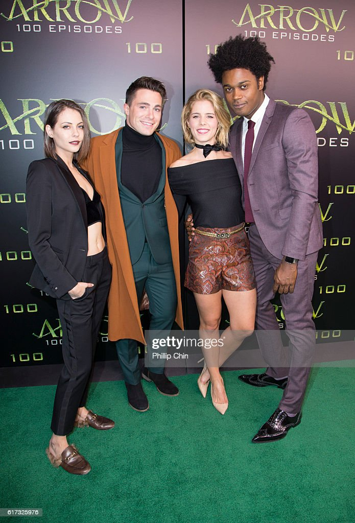 "Celebration Of 100th Episode Of CW's ""Arrow"""