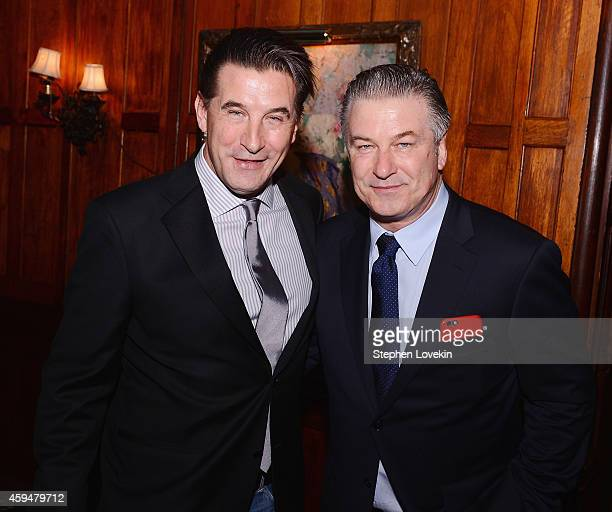 Actors William Baldwin and Alec Baldwin attend The 204 Russian American Person Of The Year Awards at The National Arts Club on November 23 2014 in...