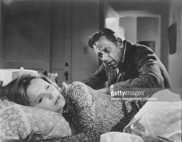 Actors William Holden and Lee Remick in a scene from the movie 'The Blue Knight' 1973