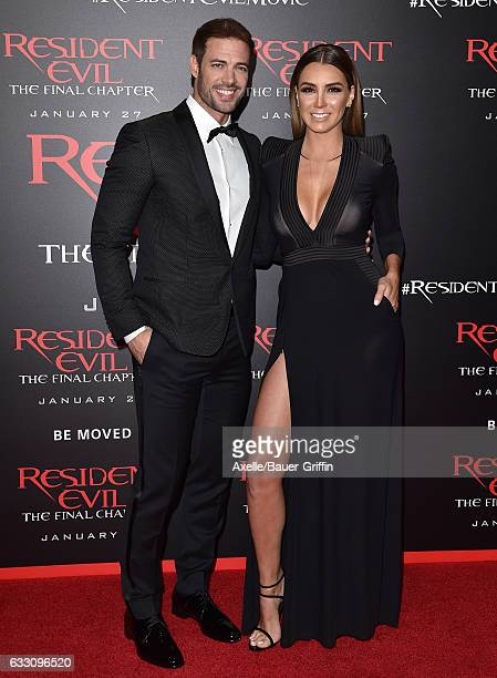 Actors William Levy and Elizabeth Gutierrez arrive at the premiere of Sony Pictures Releasing's 'Resident Evil: The Final Chapter' at Regal LA Live:...
