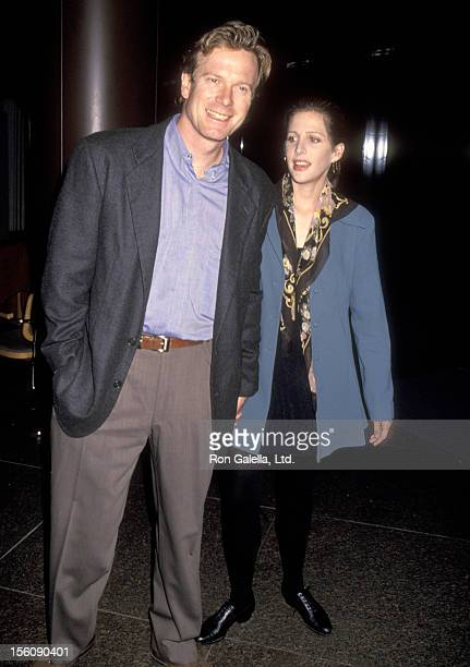 Actors William R Moses and Tracy Nelson attend the Writers Guild of America/Directors Guild of America Preston Sturges Award on October 24 1993 at...