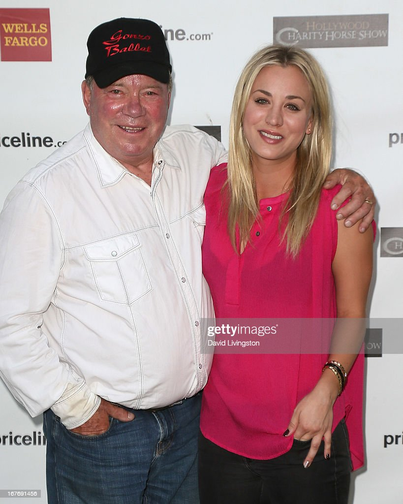William Shatner Children Kaley Cuoco