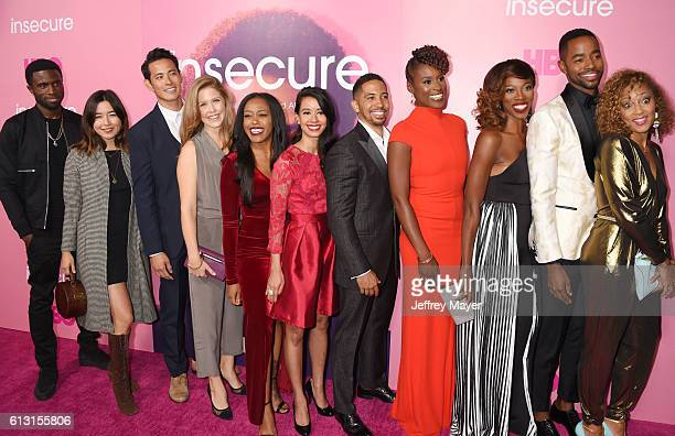 Actors Y'Lan Noel Maya Erskine Ivan Shaw Lisa Joyce Dominique Perry Sujata Day Neil Brown Jr creator/executive producer/actress Issa Rae actress...