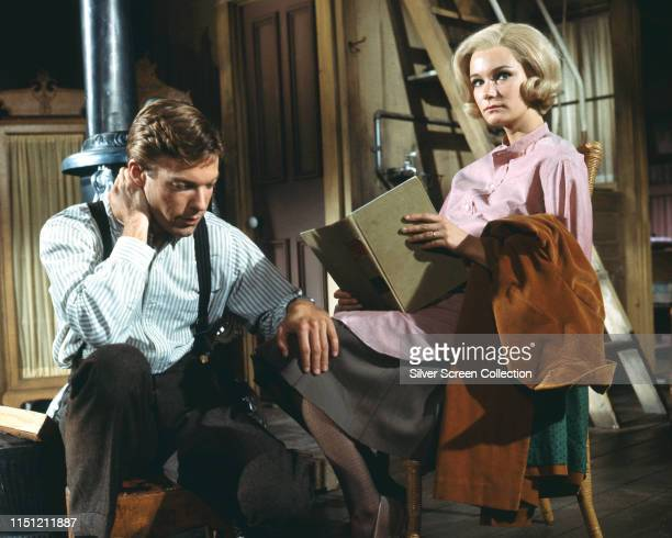 Actors Yvette Mimieux as Annie McGairy Brown and Richard Chamberlain as Carl Brown in the film 'Joy in the Morning' 1965