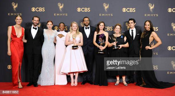 Actors Yvonne Strahovski, Joseph Fiennes, Madeline Brewer, Samira Wiley, Elisabeth Moss, O-T Fagbenle, Alexis Bledel, Ann Dowd, Max Minghella and...