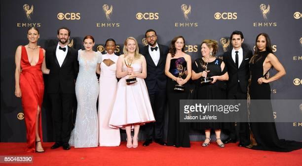 Actors Yvonne Strahovski Joseph Fiennes Madeline Brewer Samira Wiley Elisabeth Moss OT Fagbenle Alexis Bledel Ann Dowd Max Minghella and Amanda...