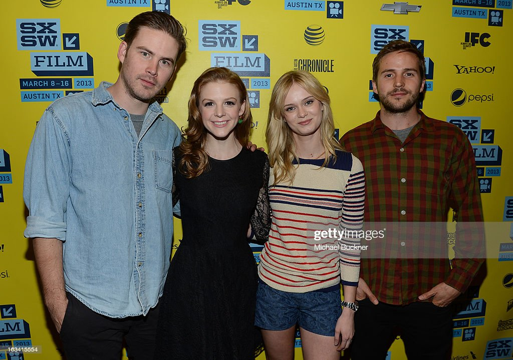 Actors Zach Cregger, Ashley Bell, Sara Paxton and Michael Stahl-David attend the photo op for 'The Bounceback' during the 2013 SXSW Music, Film + Interactive Festival at The Paramount Theatre on March 9, 2013 in Austin, Texas.