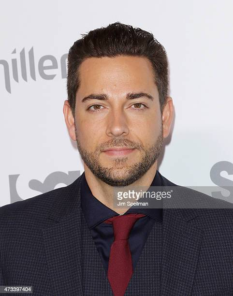Actors Zachary Levi attends the 2015 NBCUniversal Cable Entertainment Upfront at The Jacob K Javits Convention Center on May 14 2015 in New York City