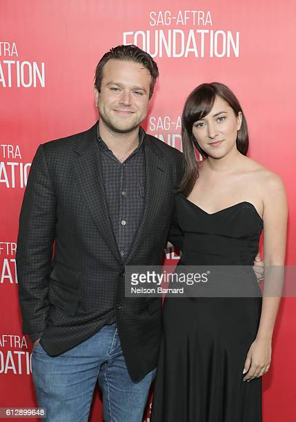 Actors Zachary Pym Williams and Zelda Williams attend the grand opening Of SAGAFTRA Foundation's Robin Williams Center on October 5 2016 in New York...