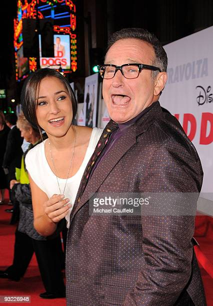 """Actors Zelda Williams and Robin Williams arrive at the premiere of Walt Disney Pictures' """"Old Dogs"""" held at the El Capitan Theatre on November 9,..."""