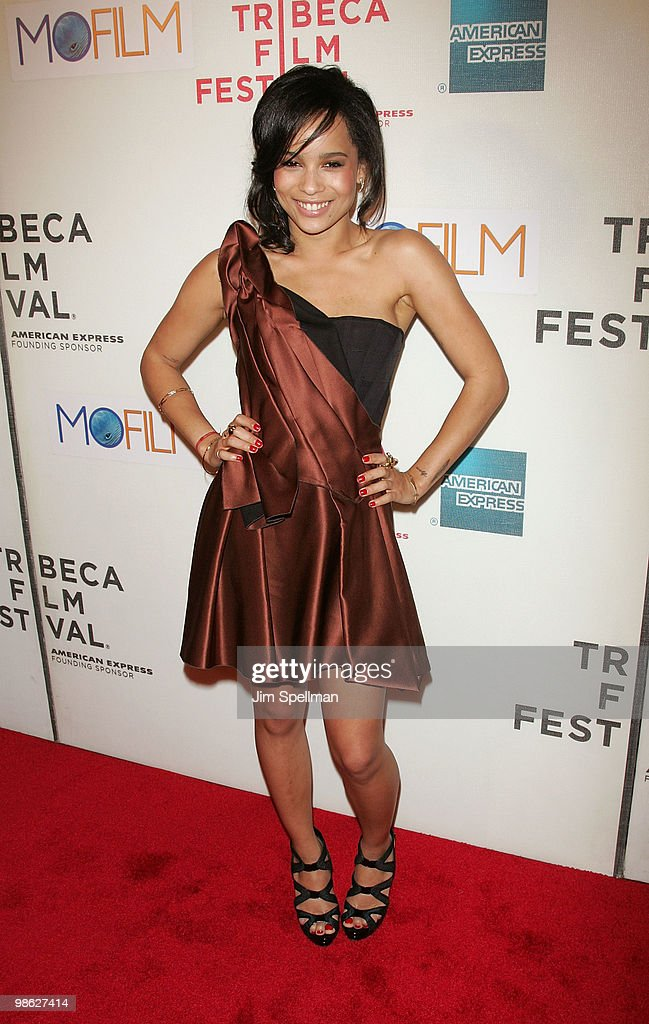 Actors Zoe Kravitz attends the premiere of 'Beware The Gonzo' during the 9th annual Tribeca Film Festival at the Tribeca Performing Arts Center on April 22, 2010 in New York City.