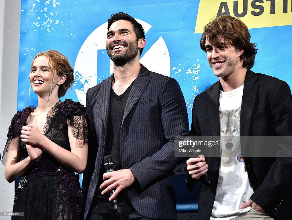 Actors Zoey Deutch, Tyler Hoechlin and Temple baker attend the screening of 'Everybody Wants Some' during the 2016 SXSW Music, Film + Interactive Festival at Paramount Theatre on March 11, 2016 in Austin, Texas.