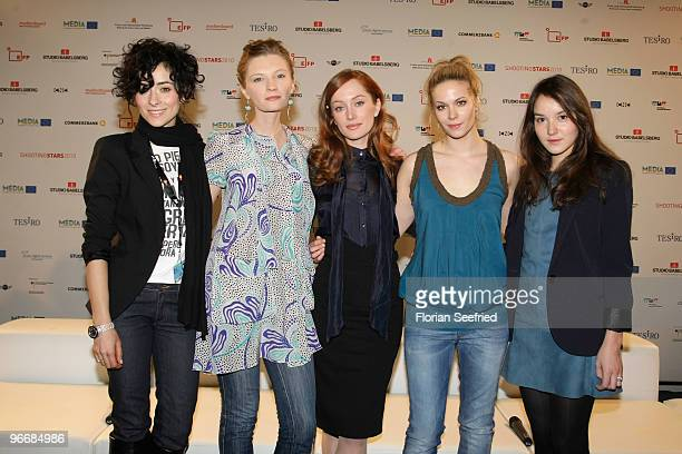 Actors Zrinka Cvitesic Agata Buzek Lotte Verbeek Pihla Viitala and Anais Demoustier attend the 'Shooting Stars' Photocall during day four of the 60th...