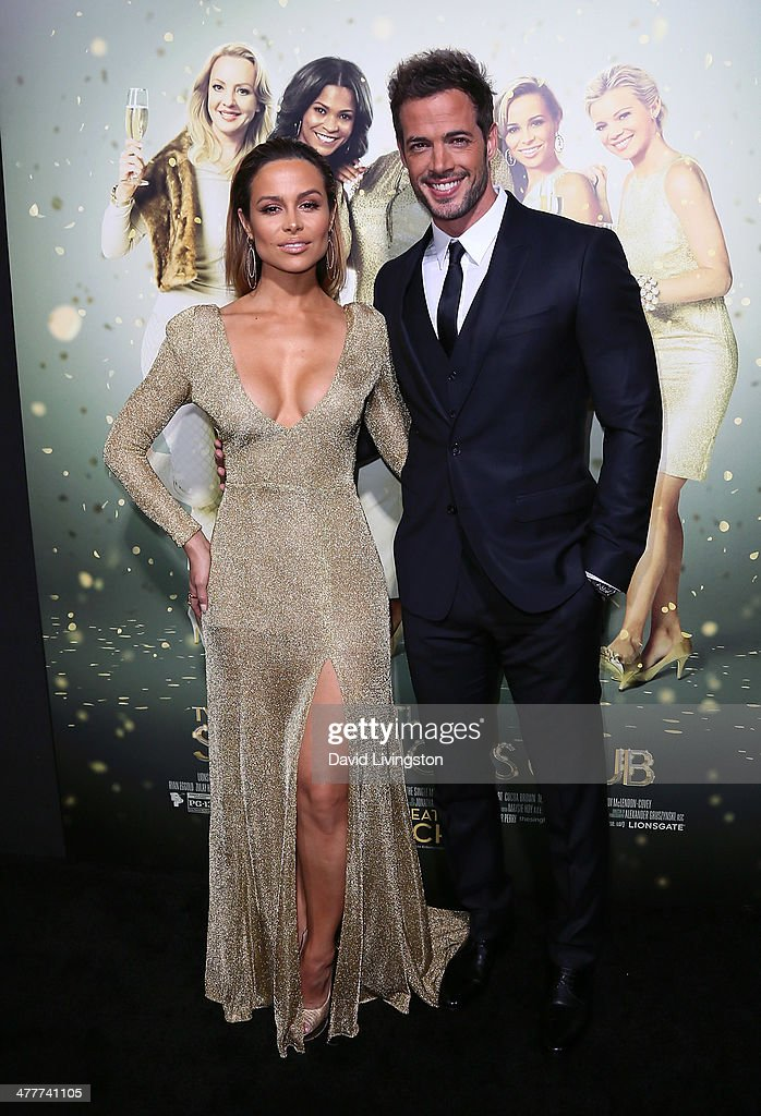 Actors Zulay Henao (L) and William Levy attend the premiere of Tyler Perry's 'The Single Moms Club' at the ArcLight Cinemas Cinerama Dome on March 10, 2014 in Hollywood, California.