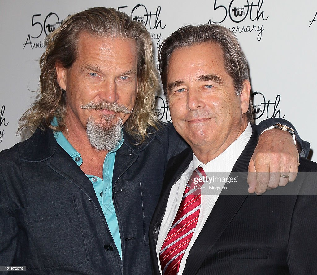 Actors/brothers Jeff B...