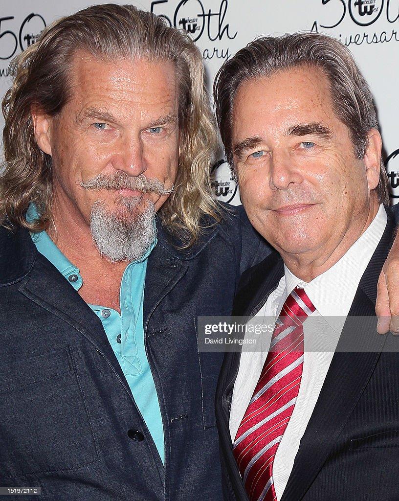 Actors/brothers Jeff Bridges and Beau Bridges attend ...
